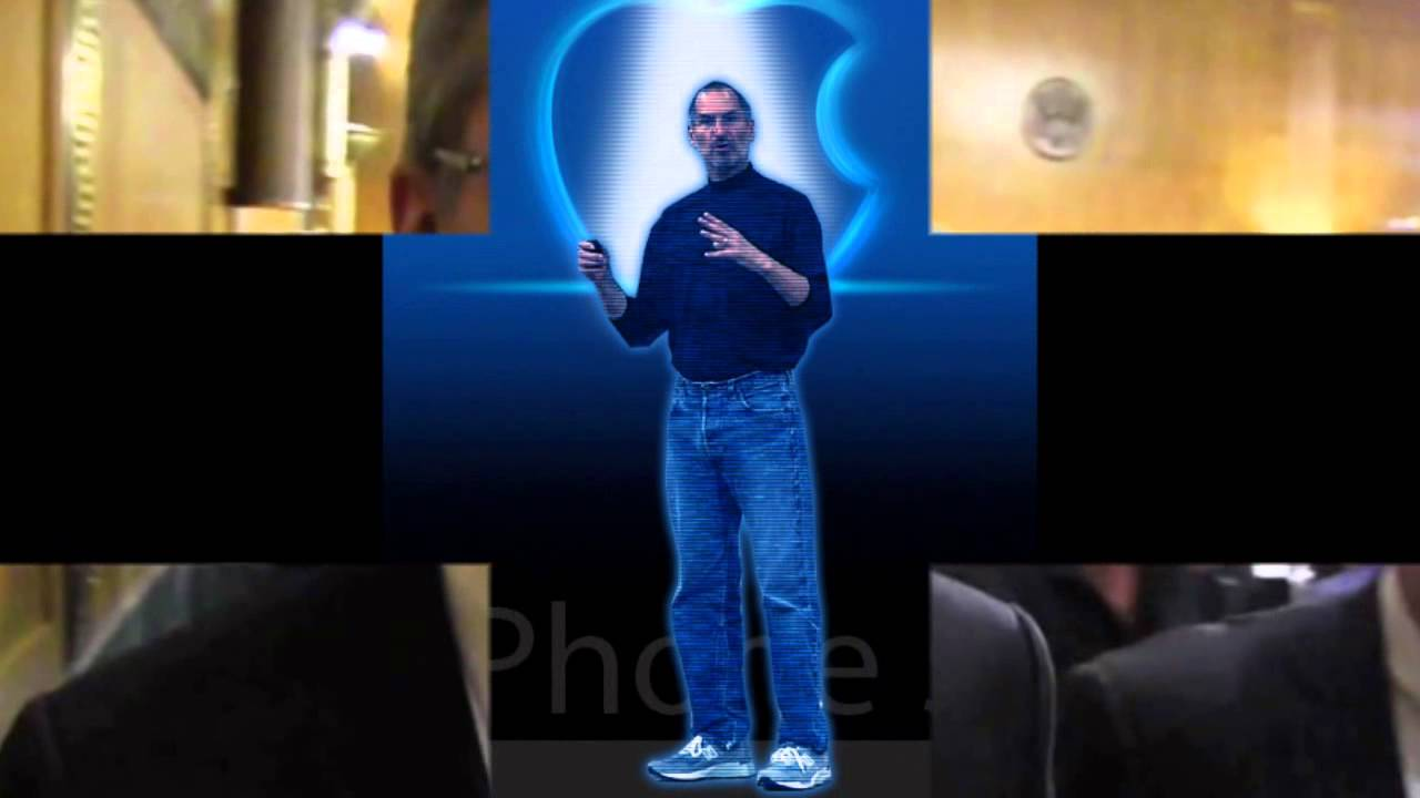 holographic steve jobs