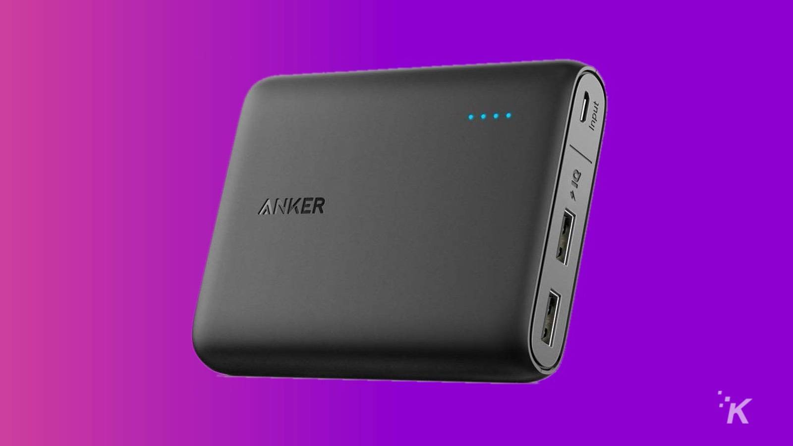 anker powercore deal knowtechie