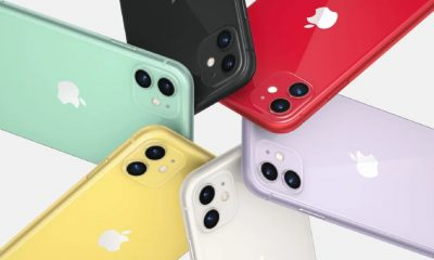 apple iphone 11 is various colors