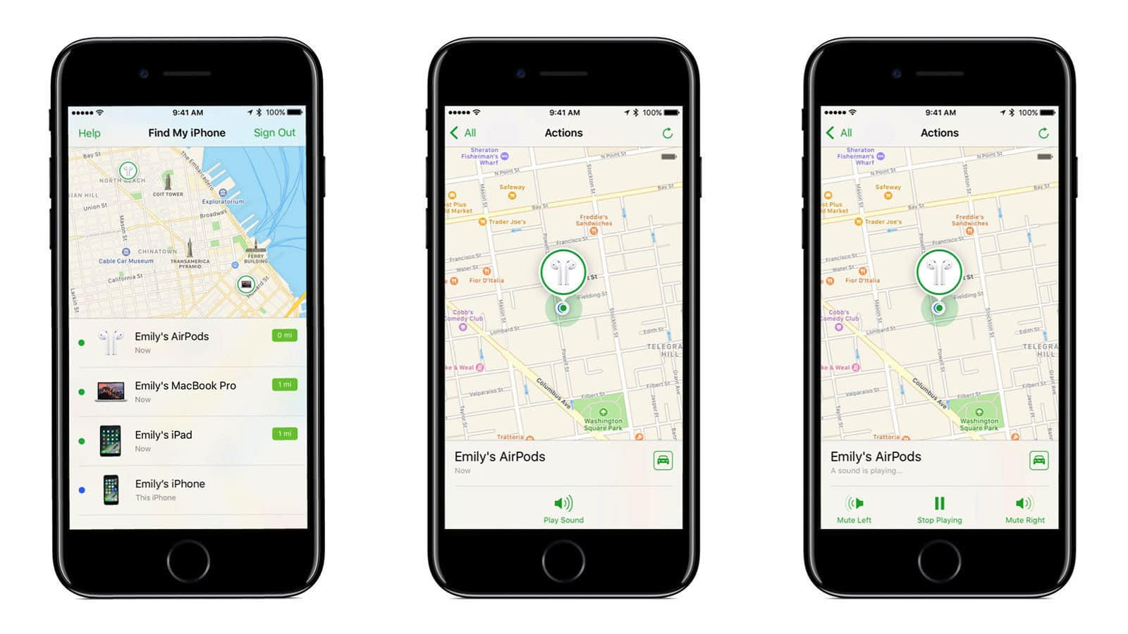 apple iphone tracking app