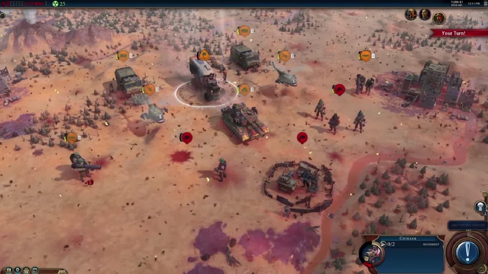 civilization vi red death battler royale mode