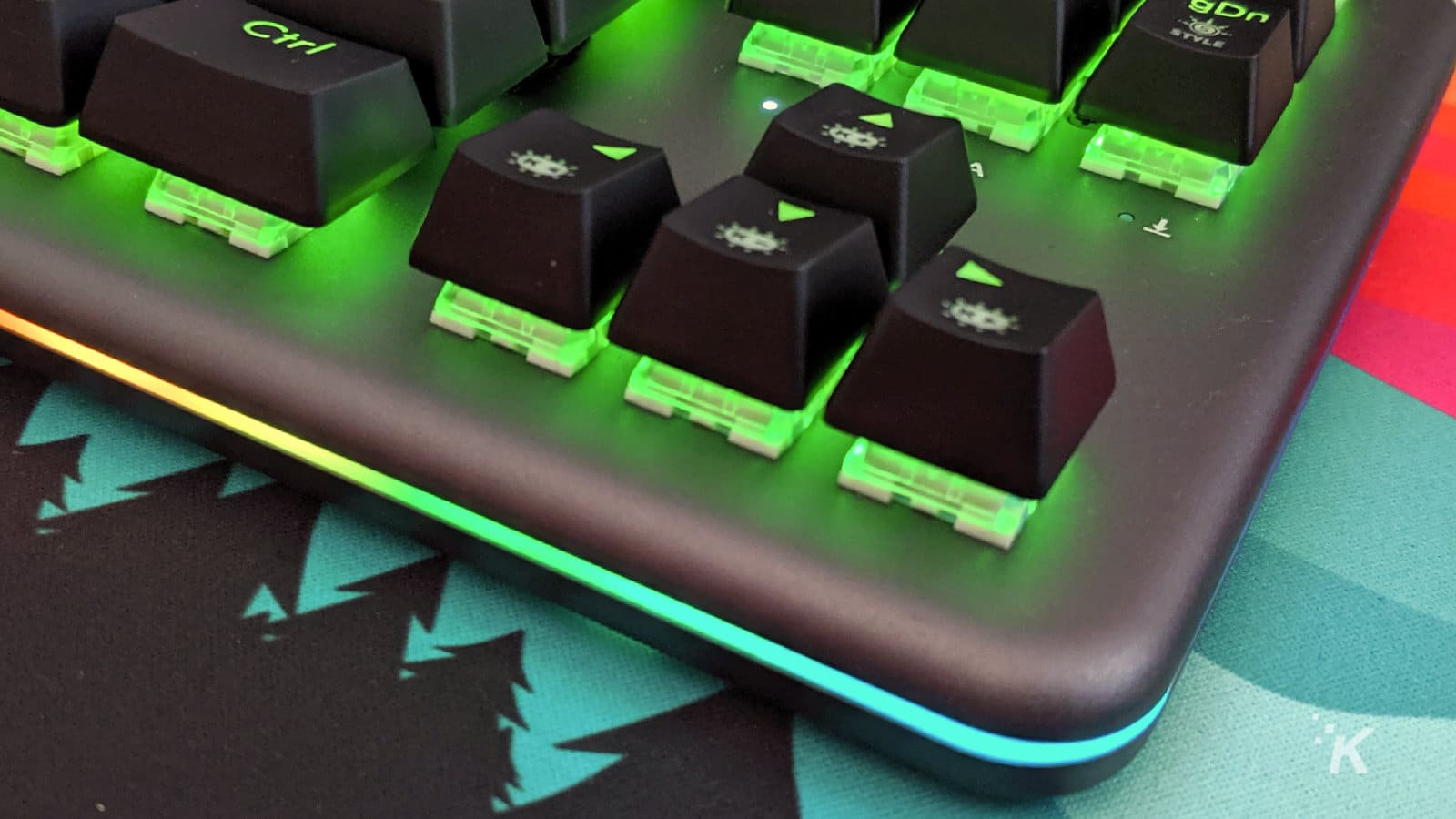hexgears nova keyboard zoomed in