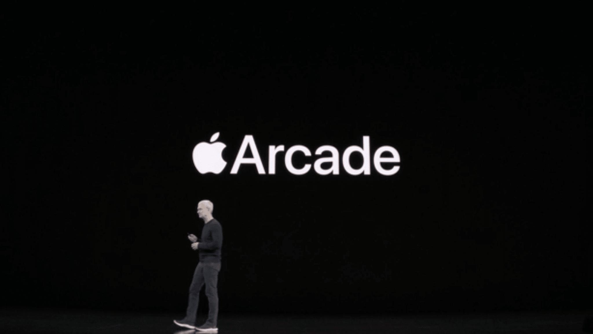 apple arcade tim cook