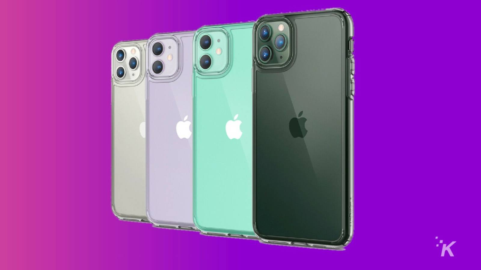 If you just bought an iPhone 11, Pro, or Pro Max – slap this clear case on it for just $10