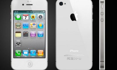 apple iphone 4 from three angles