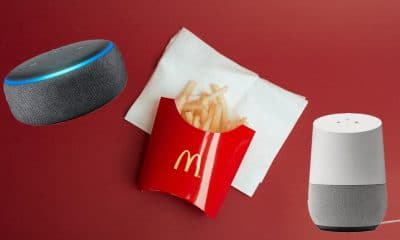 mcdonald's french fries and smart speakers