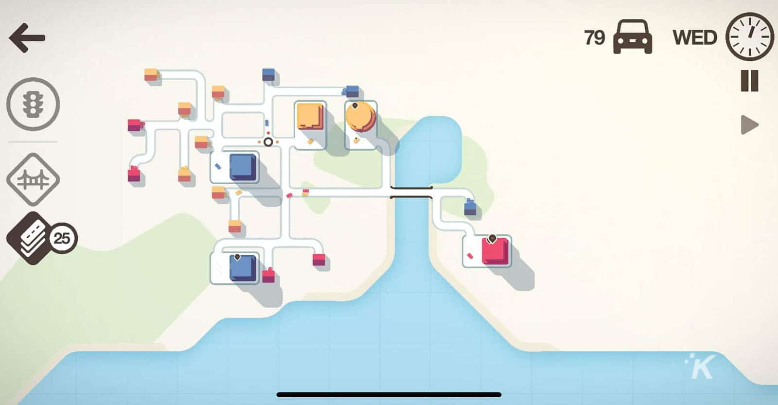 mini motorways on apple arcade
