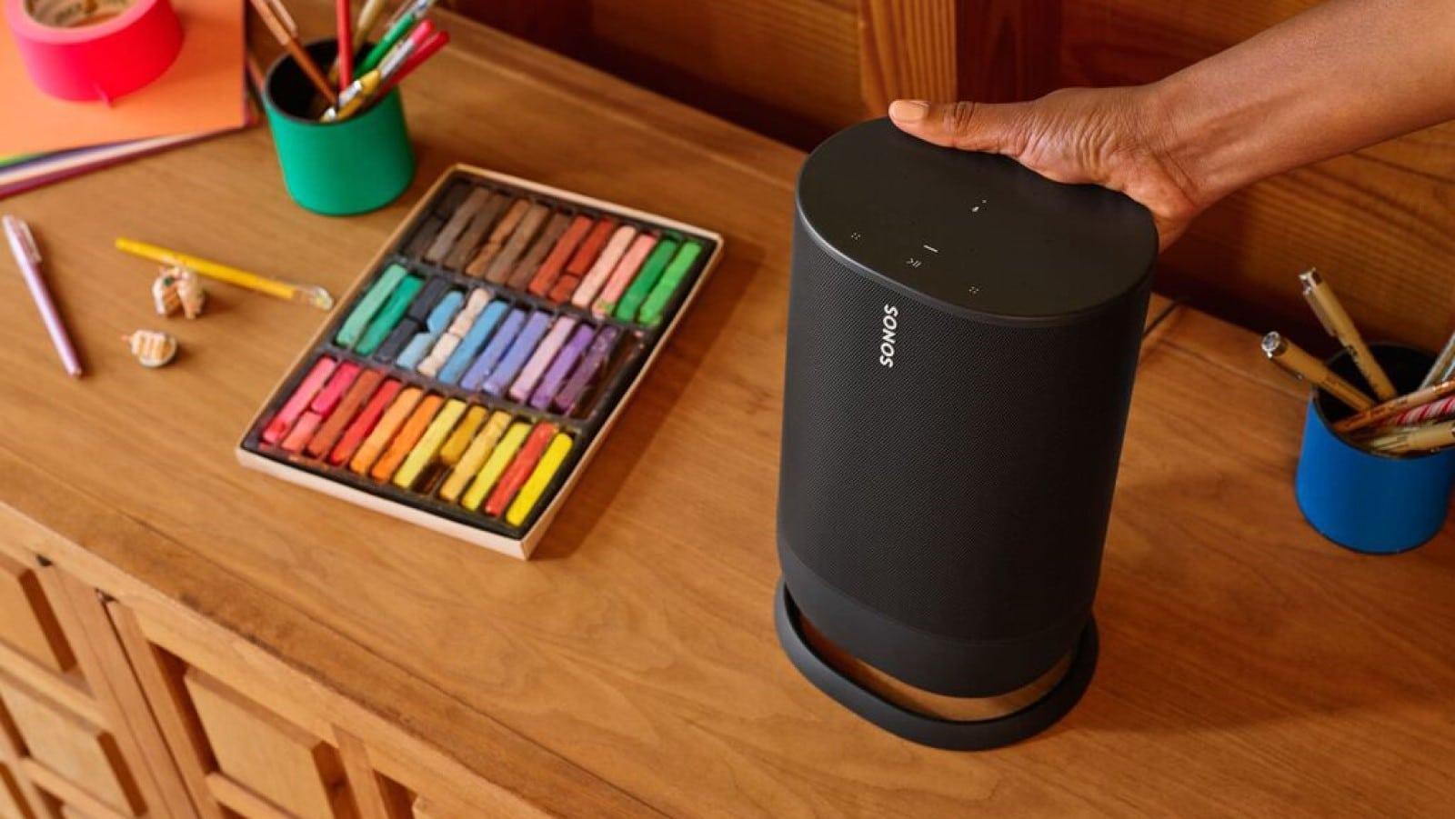 sonos move indoor charge bluetooth speaker