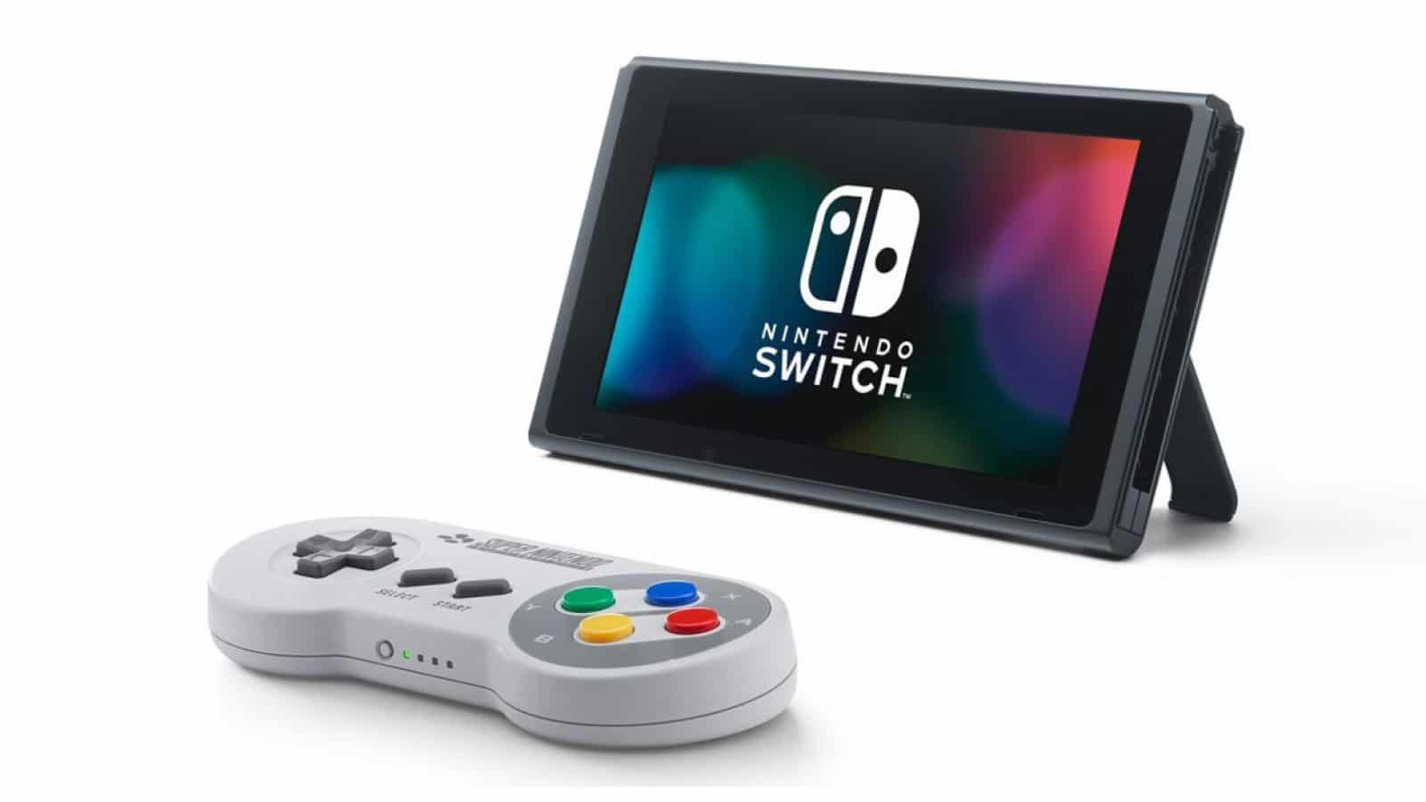 nintendo switch snes controller