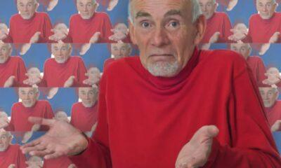 old man shrug
