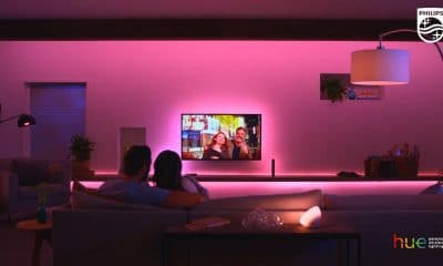philips hue sync in action