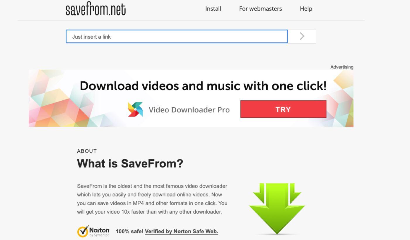 savefrom website