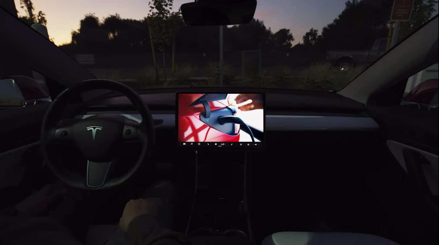 tesla new features