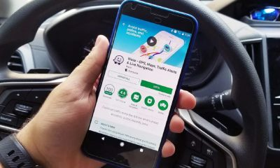 waze app on phone