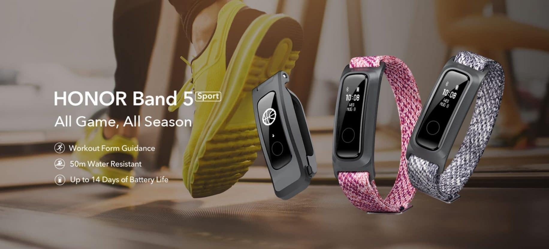 huawei fitness band 5 sport