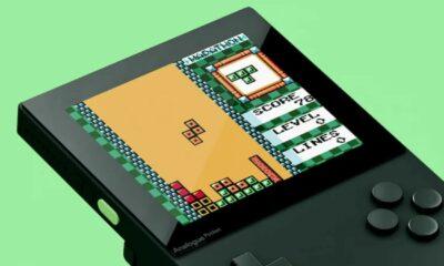 analogue pocket handheld retro game system
