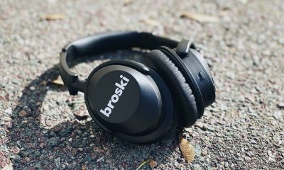 broski noise cancellation headphones