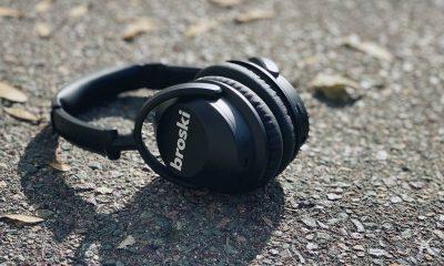 broski noise cancellation headphones