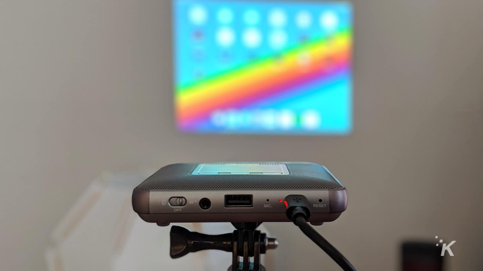 canon rayo s1 projector mirroring ipad screen
