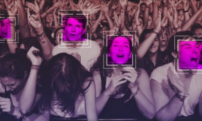 facial recognition at a music festival