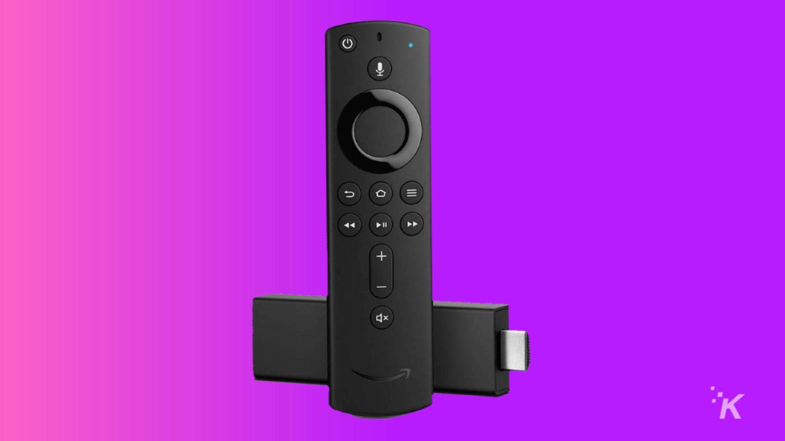 fire tv stick 4k amazon knowtechie deal