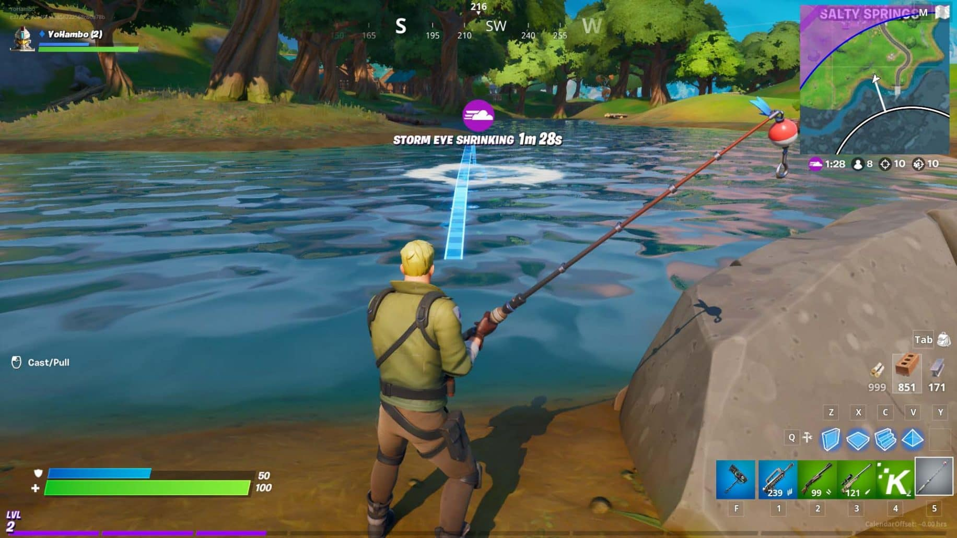 fortnite chapter 2 fishing