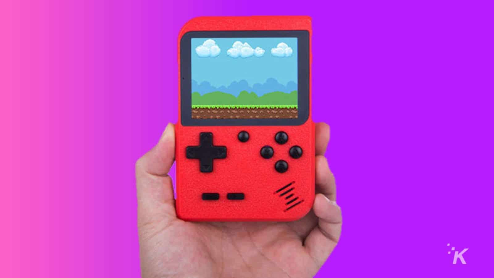 gamebud portable console knowtechie deal