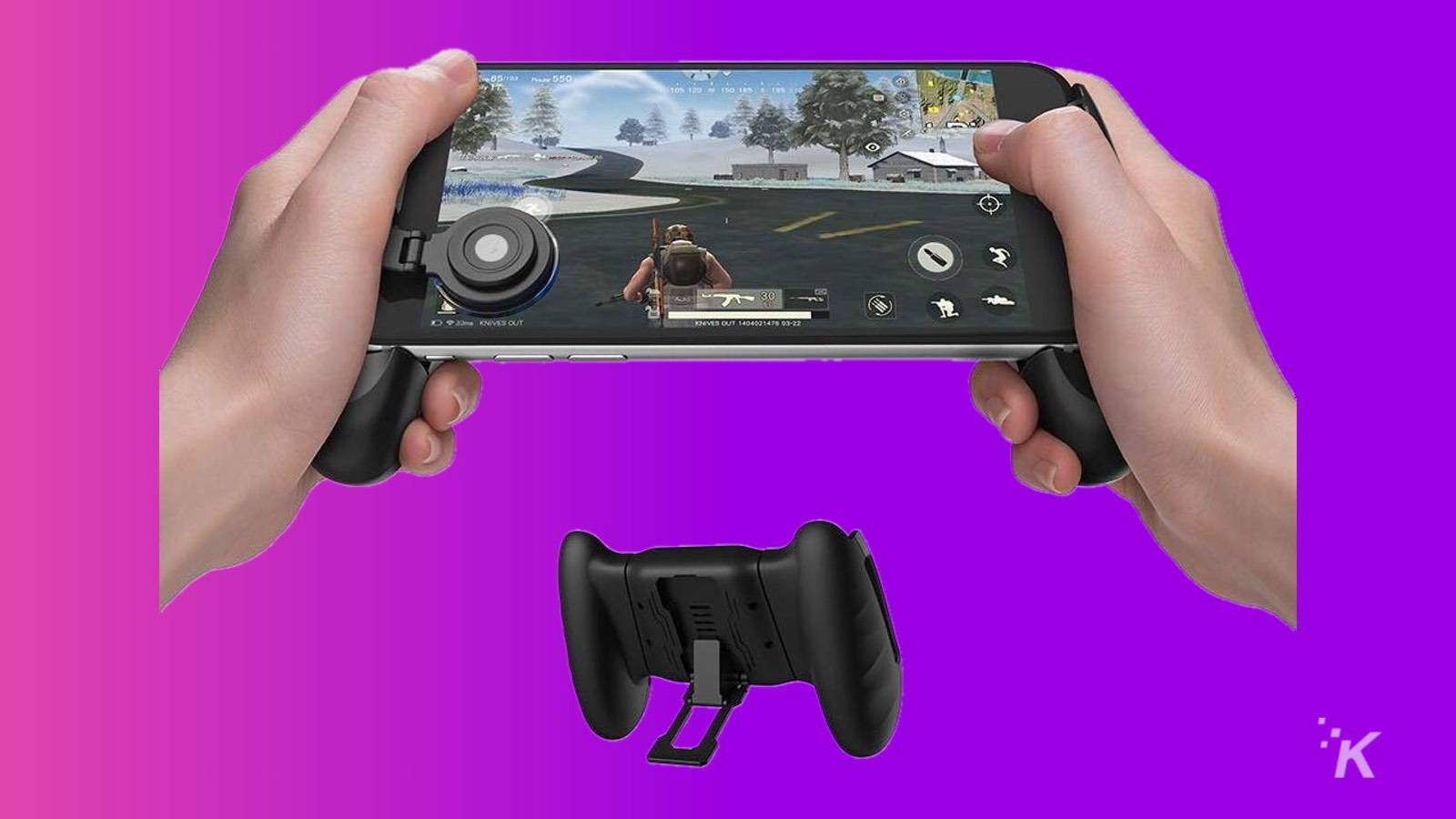gamesfit f1 grip android mobile gaming controller