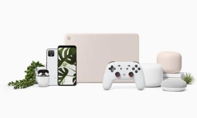 google pixel 4, stadia, pixelbook go, pixel buds 2 and nest mini devices