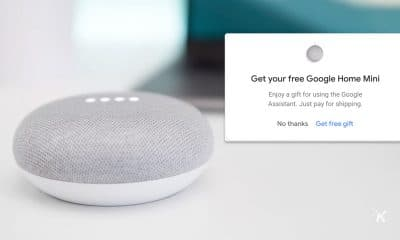 google home mini free offer