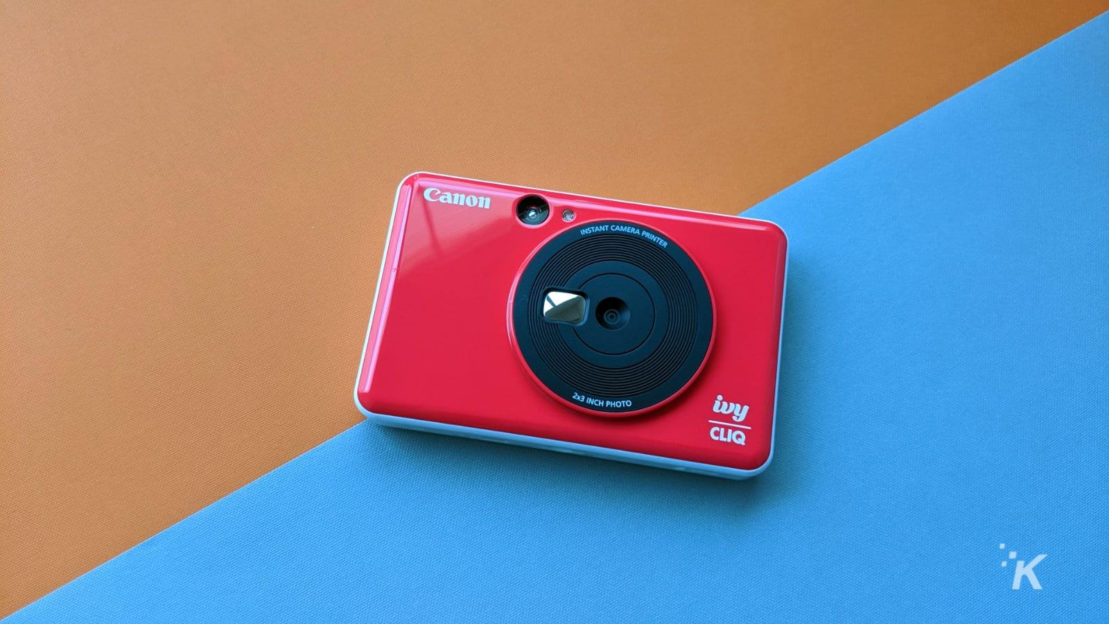 ivy cliq instant photo printing camera
