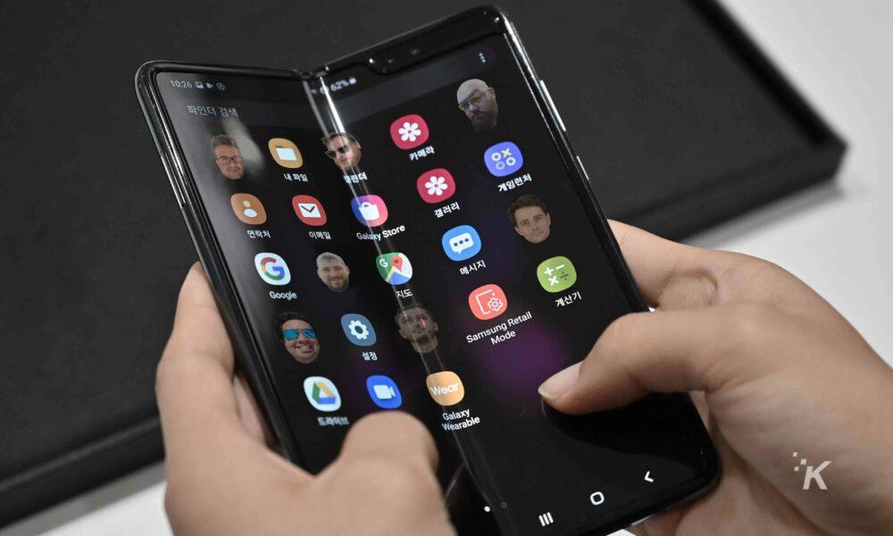 samsung galaxy fold folding smartphones