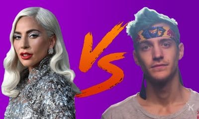 lady gaga vs ninja