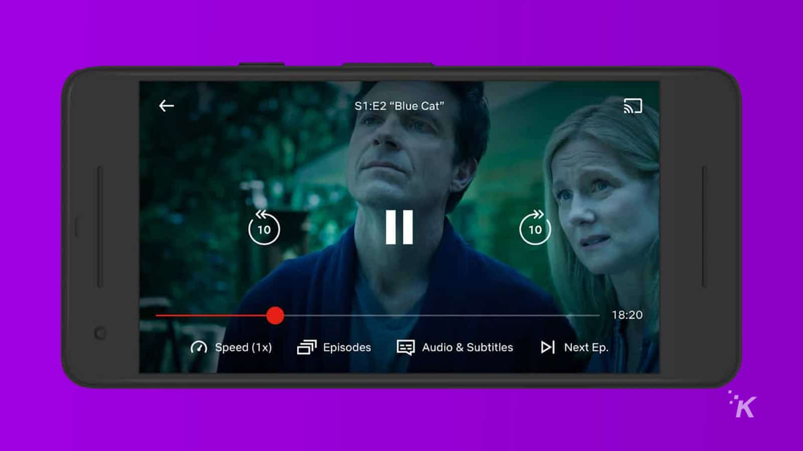 netflix testing playback speed
