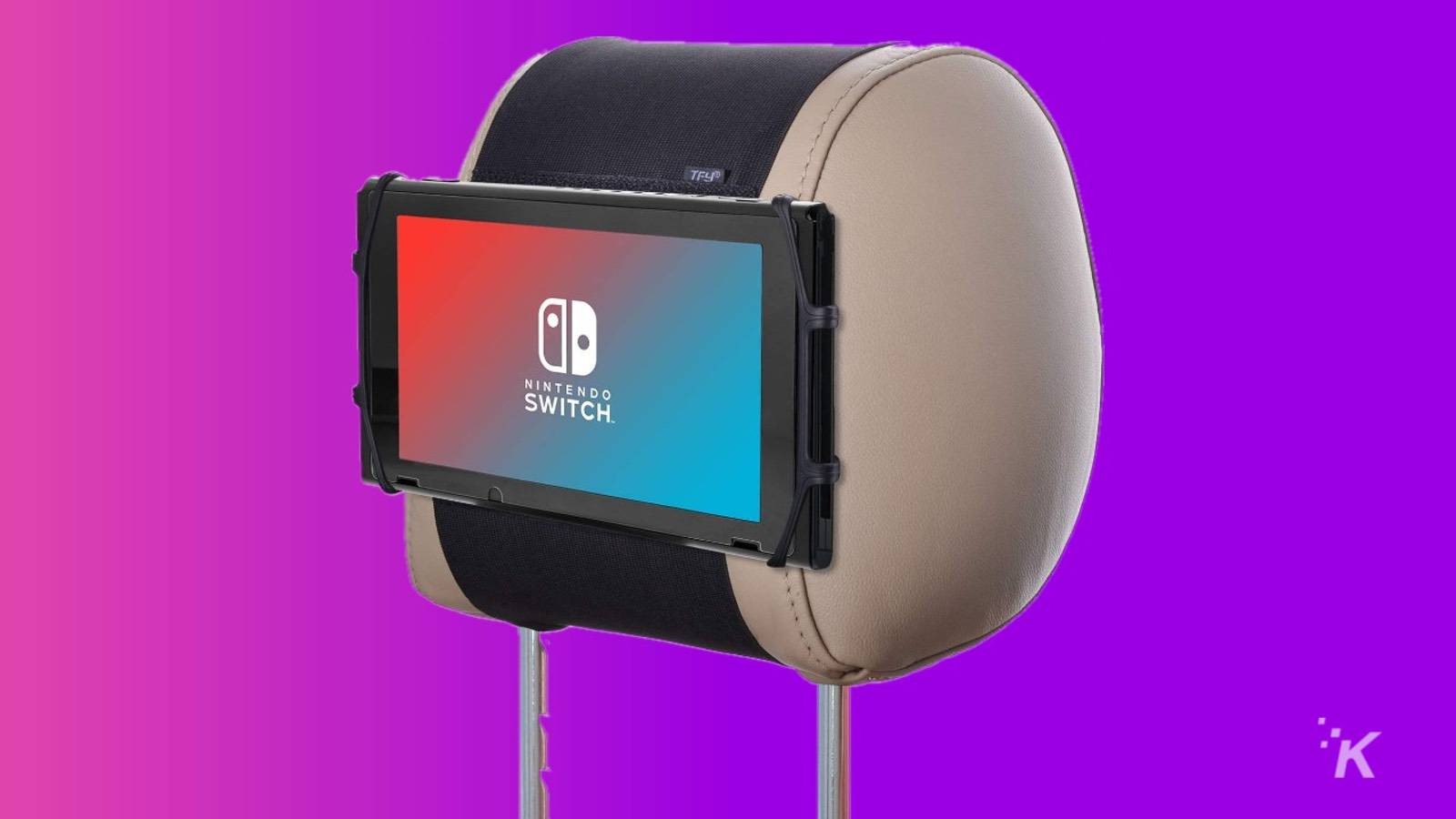 nintendo switch headrest