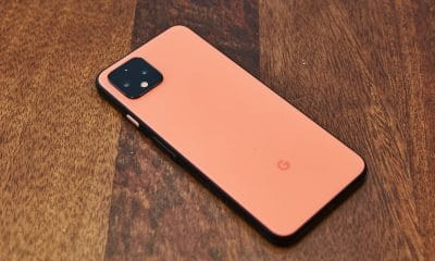 google pixel 4 on table oh so orange