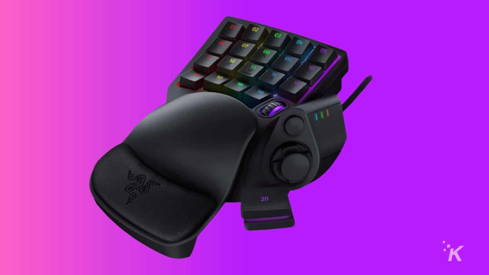 razer tartarus pro gaming keyboard