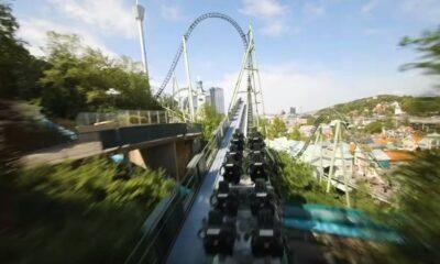 rollercoaster drone