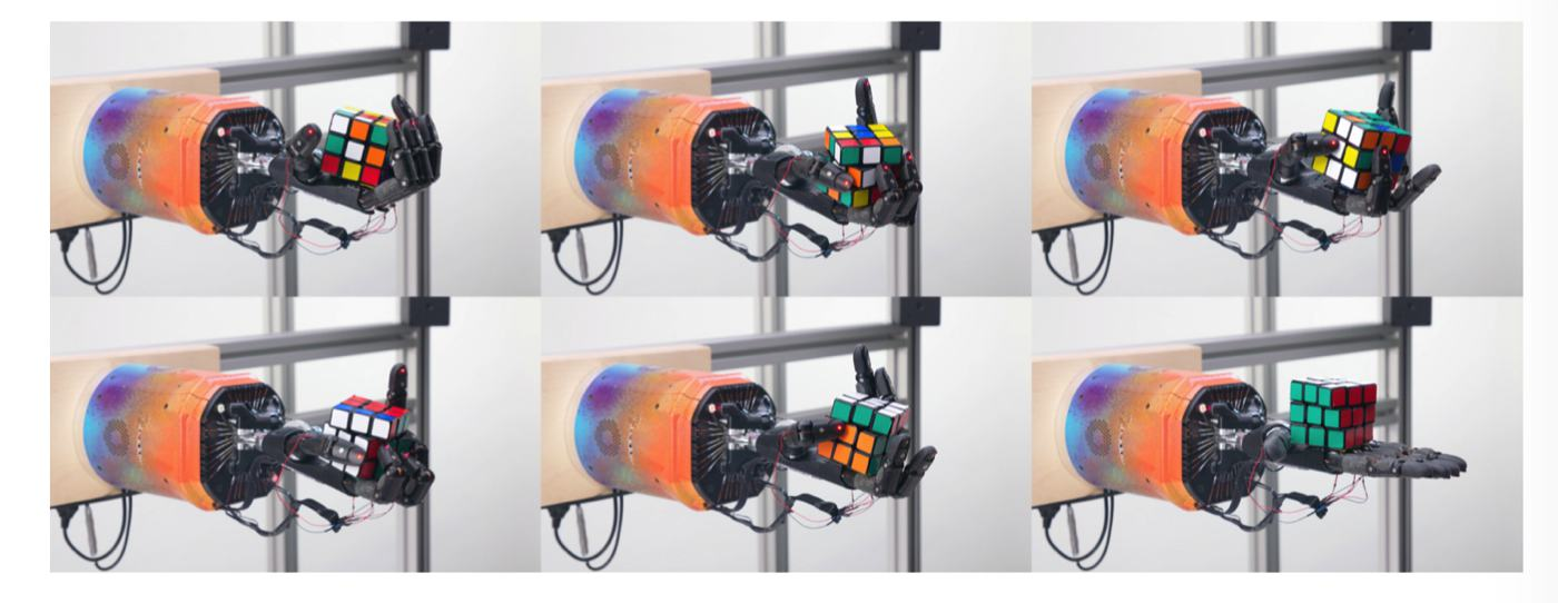 rubiks cube robot ai