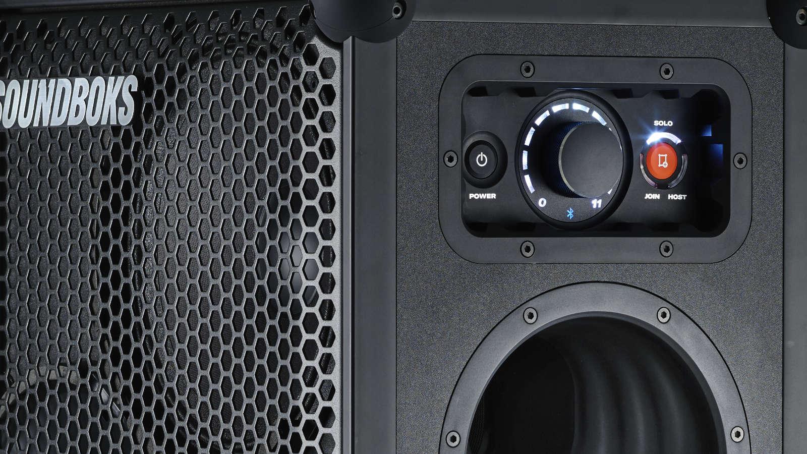 soundboks speaker control panel