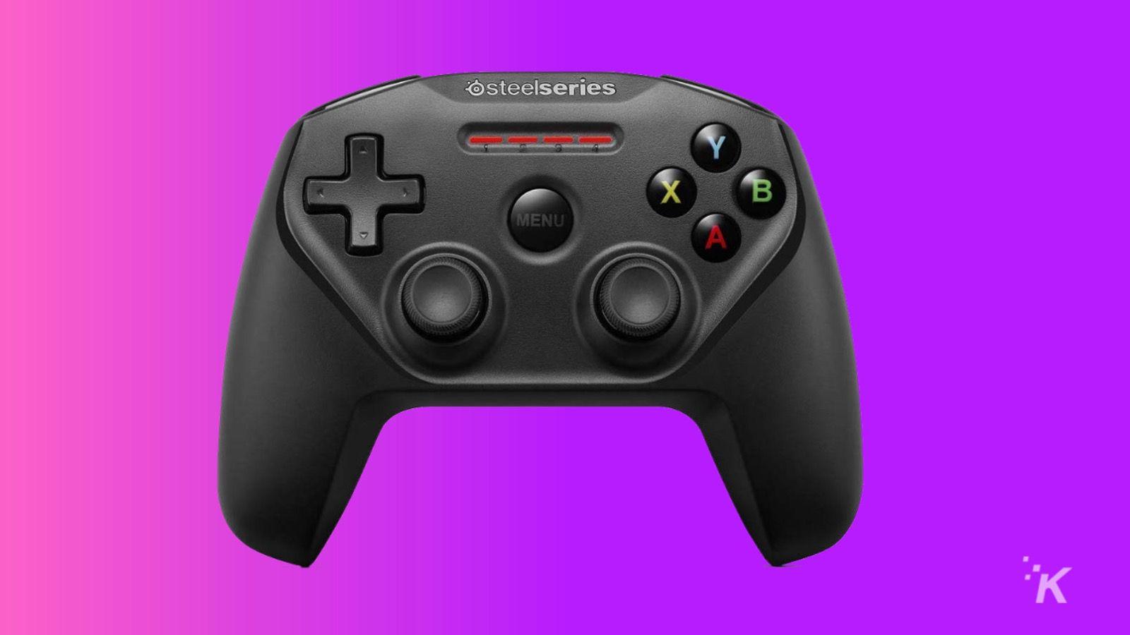 steelseries nimbus gaming controller