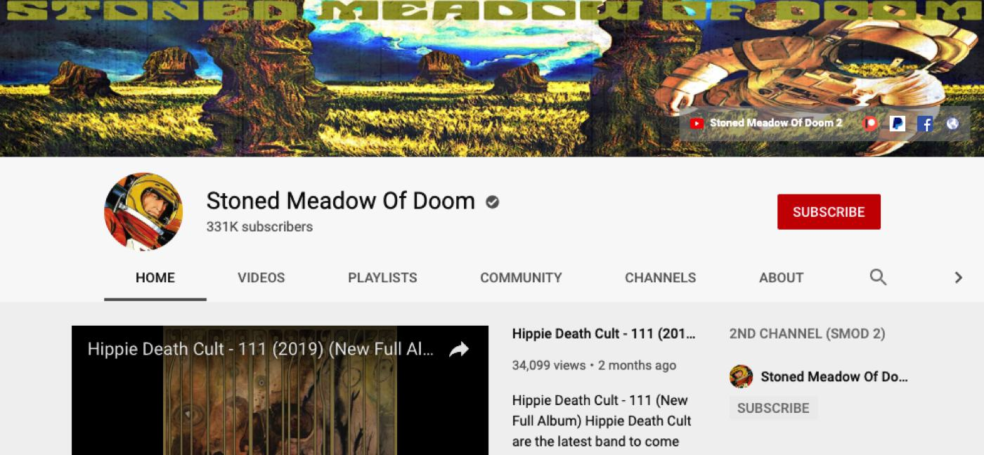 stoned meadow of doom youtube
