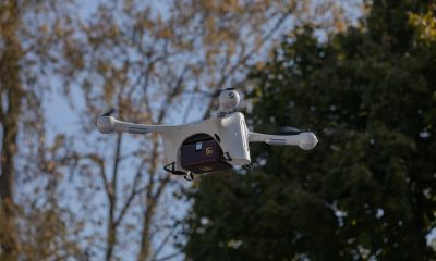 ups drone in flight