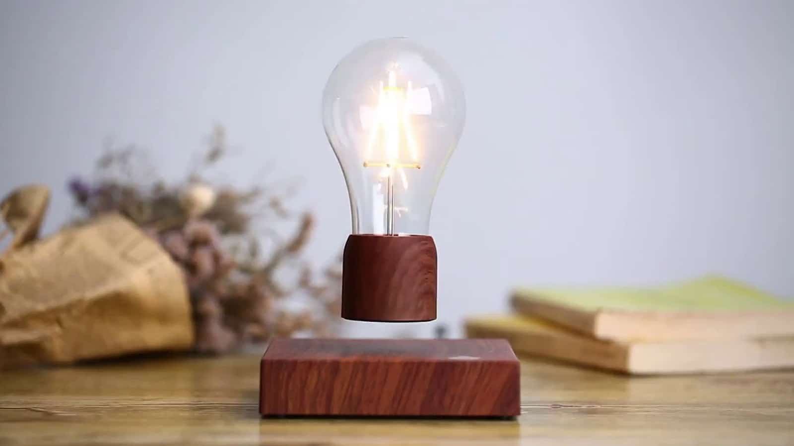 volta floating lightbulb