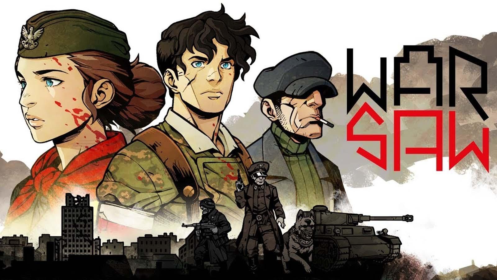 warsaw game title screen