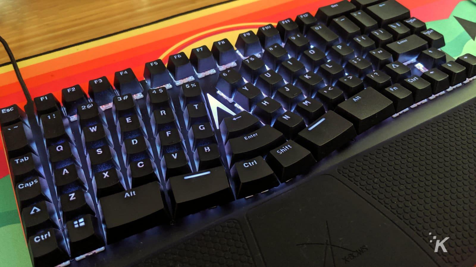 xbows ergonomic keyboard