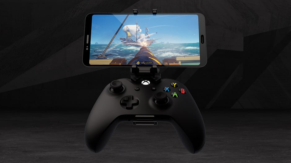 xbox controller smartphone mount project xcloud