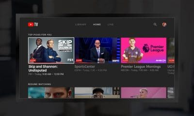 youtube tv dashboard on amazon device