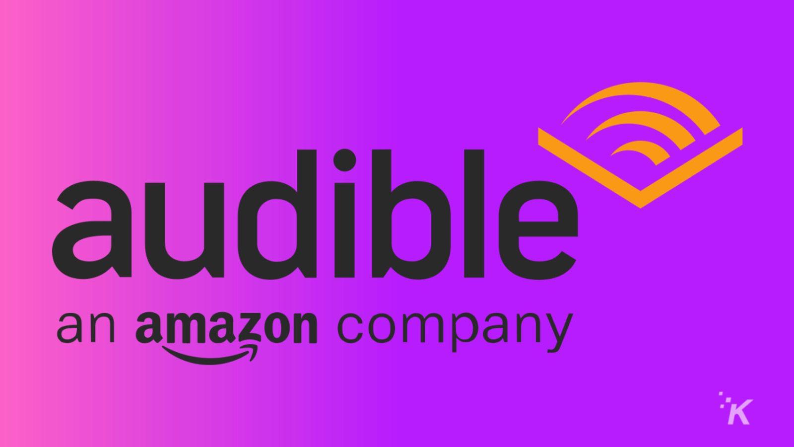 audible amazon logo knowtechie