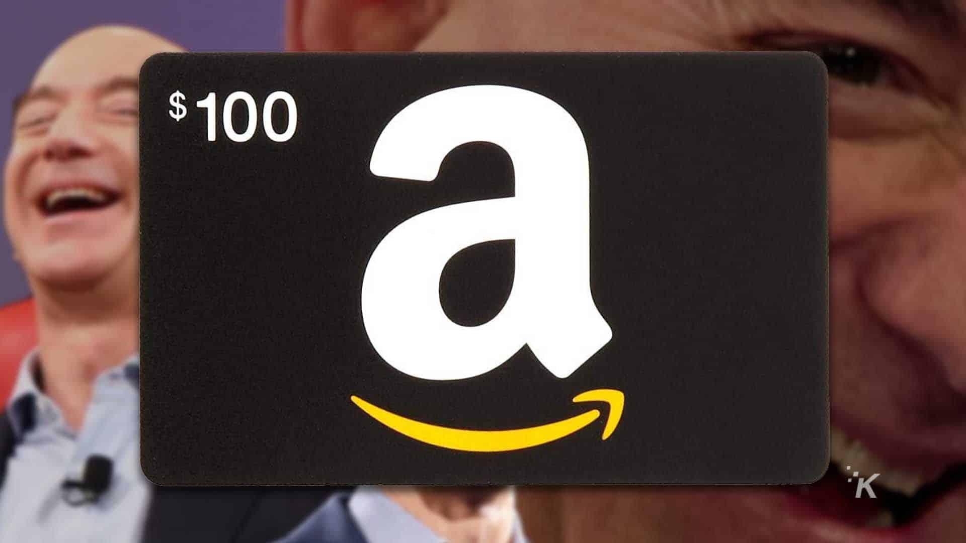 $100 amazon money
